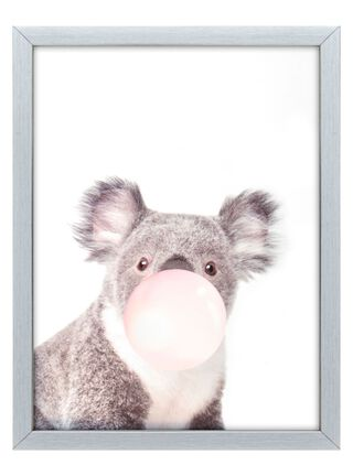 Cuadro Tela Koala 30 x 40 cm Home Republic,,hi-res