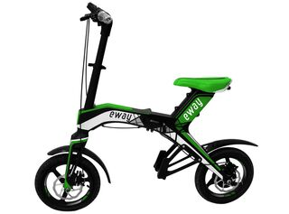 Bicicleta Eléctrica Eway Aro 16 Verde,,hi-res