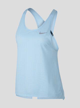 Polera Miler Tank Soft Nike,Celeste,hi-res
