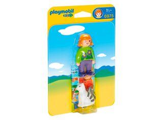 Mujer con Gato 123 Playmobil,,hi-res