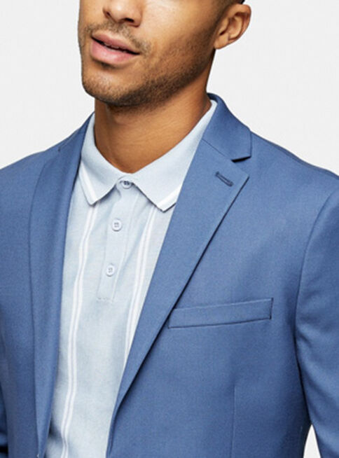 Chaqueta%20Traje%20Azul%20Skinny%20Fit%20Single%20Breasted%20Topman%2C%C3%9Anico%20Color%2Chi-res