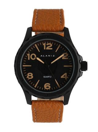 Reloj Análogo Alaniz 16009 Hombre,Café Claro,hi-res