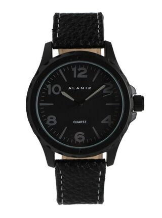 Reloj Análogo Alaniz 16006 Black Hombre,Negro,hi-res