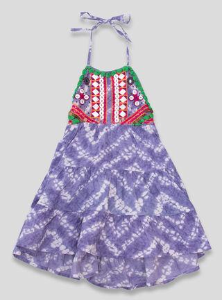 Vestido Umbrale Kids Aplicación Niña,Diseño 1,hi-res