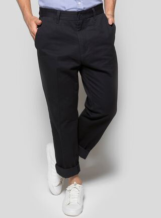 Pantalón Clásico Liso Nautica,Azul,hi-res