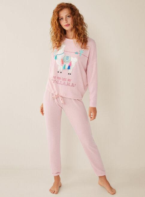 Pijama%20Lanilla%20Cozy%20Animals%20Women'Secret%2CCoral%2Chi-res