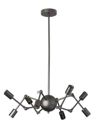 Lámpara Colgante Alaniz Home Metalica Negro 65 cm,,hi-res