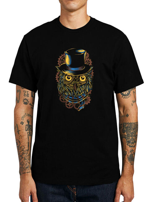 Polera%20Steampunk%20Owl%20Negra%20Get%20Out%2CNegro%2Chi-res
