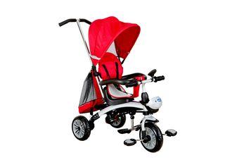 Triciclo 5 Funciones en 1 Rojo Kidscool,,hi-res