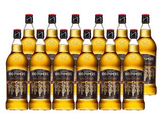 Whisky 100 Pipers 40° 12 Unidades x 1000 ml,,hi-res