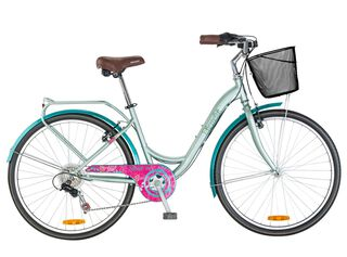 Bicicleta de Paseo Bianchi Street Aro 26,Verde Olivo,hi-res