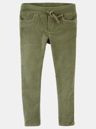 Pantalón Niña Tallas 4 a 14 Años OshKosh B'Gosh,Verde Olivo,hi-res