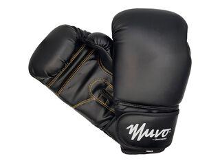 Guantes Boxeo 12oz Negro Muvo,Rojo,hi-res