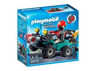 Ladrón con Cuatrimoto y Botín Playmobil,,hi-res