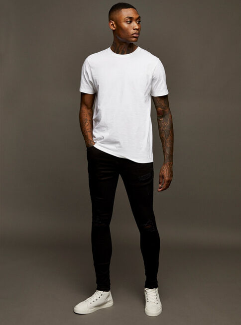 Jeans%20Considered%20Negro%20Ripped%20Spray%20On%20Skinny%20Topman%2C%C3%9Anico%20Color%2Chi-res