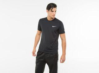 Polera Nike Deportivo Hombre Miler,Negro,hi-res