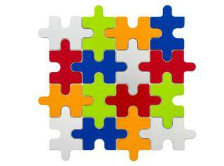 Mosaic Aluminio Play 30 x 30 cm Decórame,,hi-res