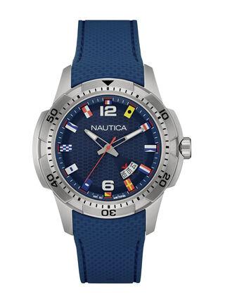 Reloj Análogo Nautica NAI13515G Flags Blue Hombre,,hi-res