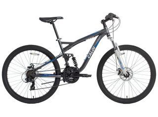 Bicicleta MTB Caloi Detour Aro 26 Gris Freno Disco,Gris,hi-res