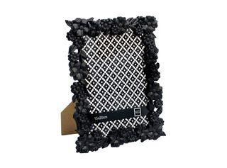 Marco de Fotos Plástico Flores Attimo 13 x 18 cm,Negro,hi-res