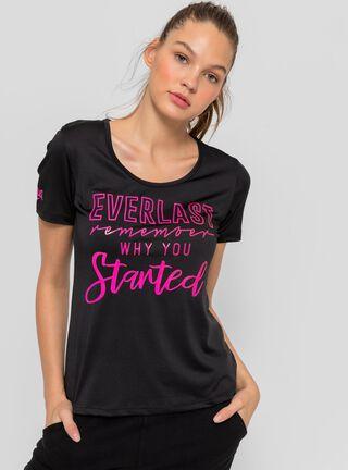 Polera Mujer Started Everlast,Negro,hi-res