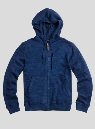 Sweater Hoodie Canguro Algodón SavilleRow,Azul Marino,hi-res