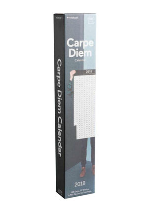 Calendario 2018 Carpe Diem Doiy Design 10 x 6 x 54 cm,,hi-res