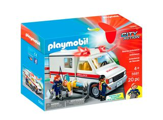 Ambulancia Playmobil,,hi-res