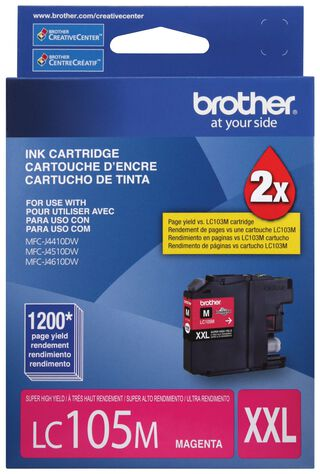 Tinta LC105M Brother,,hi-res