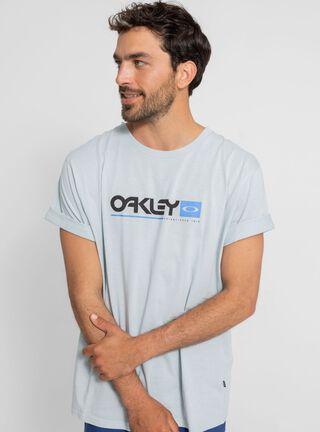 Polera Larga Oakley,Ceniza,hi-res