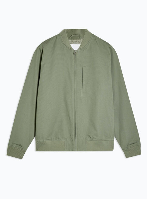 Chaqueta%20Light%20Verde%20Textured%20Bomber%20Topman%2C%C3%9Anico%20Color%2Chi-res