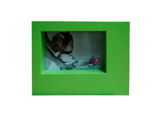 Marco de Fotos Plástico Ancho Attimo 10 x 15 cm,Verde,hi-res