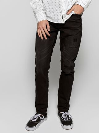 Jeans Slim Fit Negro Unlimited,Negro,hi-res