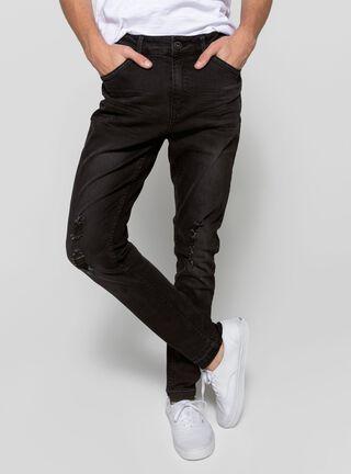 Jeans Slim Fit Negro JJO,Negro,hi-res