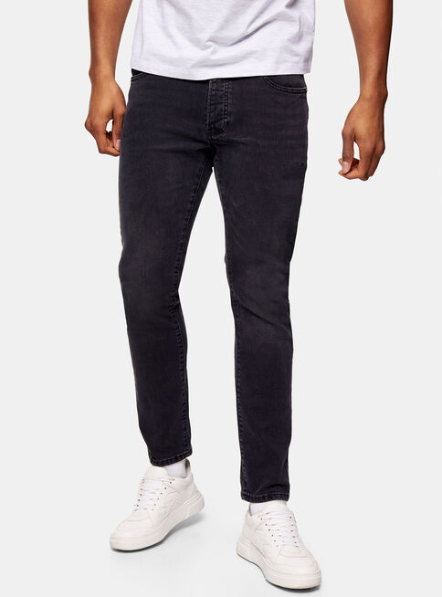 Jeans%20Considered%20Washed%20Negro%20Slim%20Topman%2C%C3%9Anico%20Color%2Chi-res