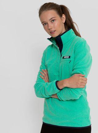 Chaqueta Mujer Harborside Fleece Pullover Columbia,Verde Claro,hi-res
