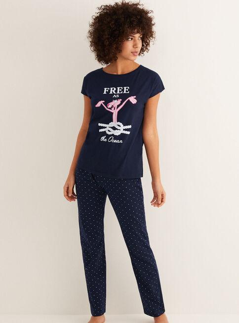 Pijama%20Pink%20Panther%20Sailor%20Women'Secret%2CAzul%20Marino%2Chi-res