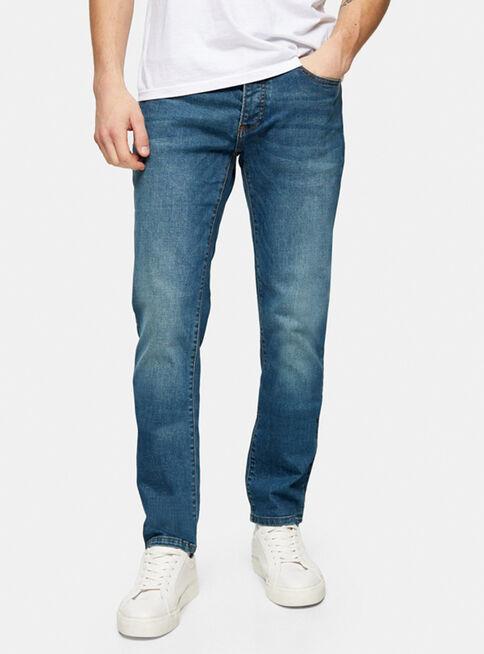 Jeans%20Mid%20Wash%20Stretch%20Slim%20Topman%2C%C3%9Anico%20Color%2Chi-res