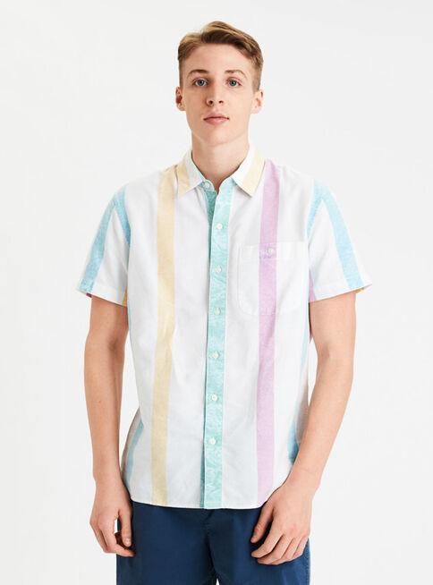 Camisa%20Print%20Manga%20Corta%20Rayada%20American%20Eagle%2CDise%C3%B1o%201%2Chi-res