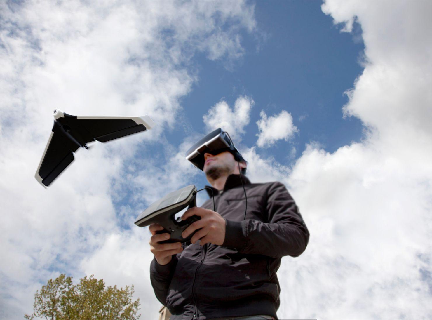Drone Parrot Parrot DiscoverFpv En DronesParis Drone 0OPkXnNw8