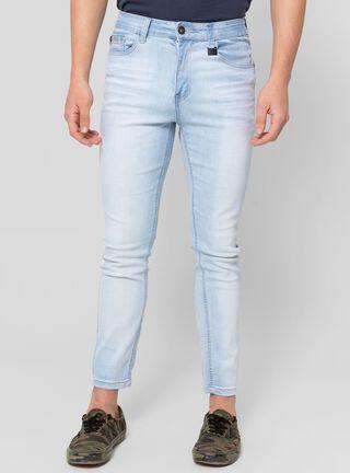 Jeans Skinny Claro Ellus,Azul,hi-res