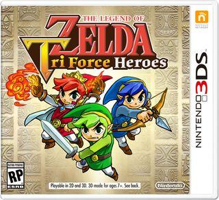 Juego 3DS The Legend of Zelda Triforce Heroes,,hi-res