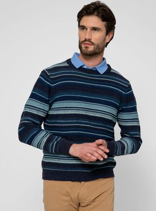 Sweater Crew Neck SavilleRow,Azul,hi-res
