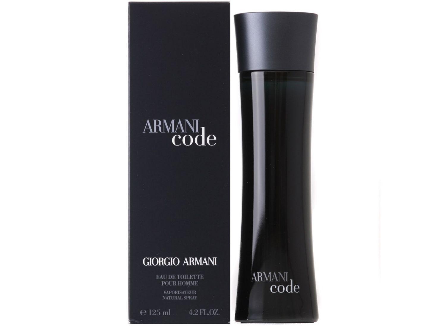 armani code 125 ml