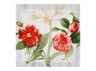 Canvas Botánico 28 x 28 cm Attimo,Rojo,hi-res