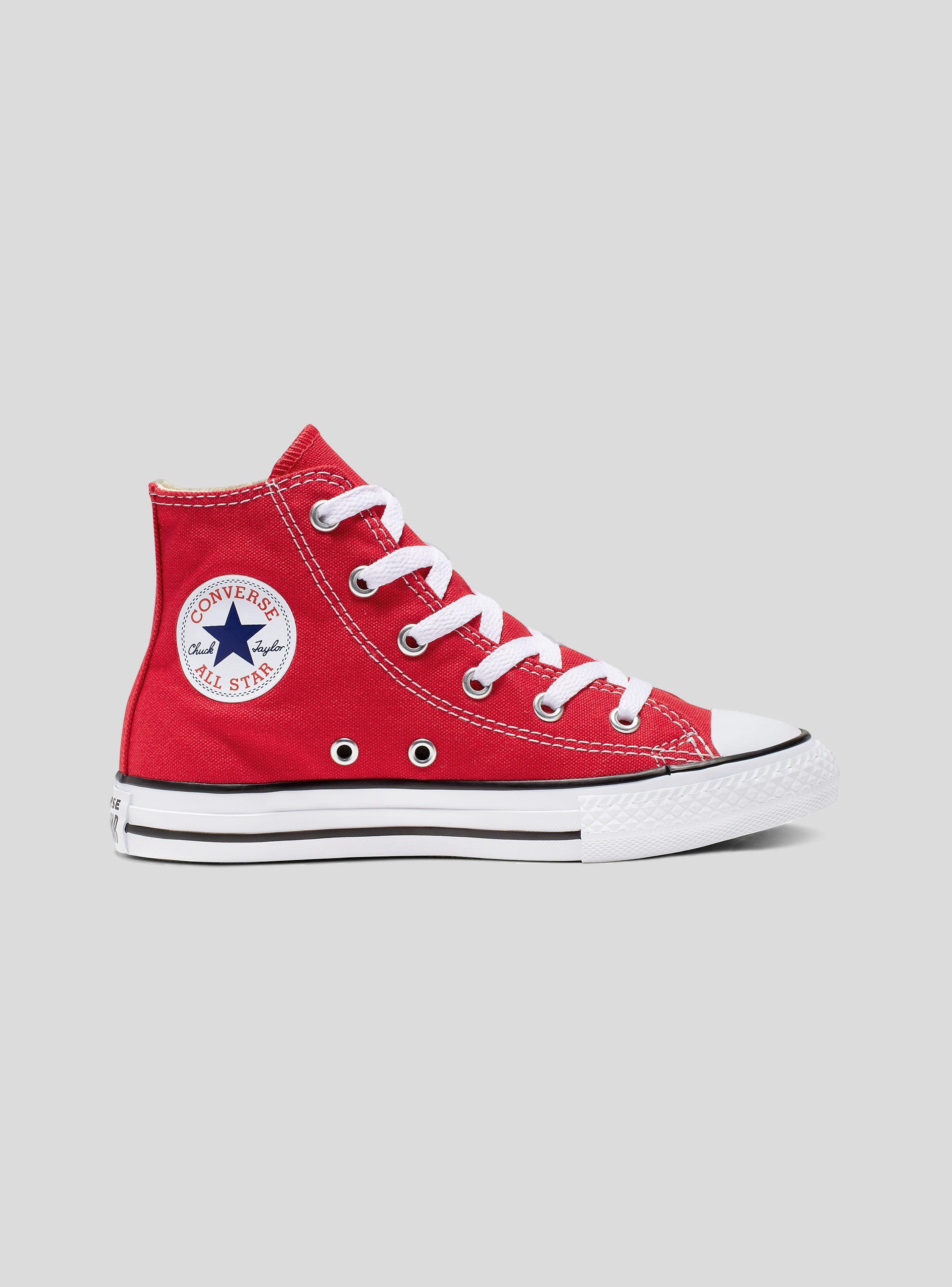 Star All ZapatillasParis Zapatilla Chuck Rojo Converse Taylor 354cqjARL