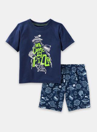 Pijama 2 Piezas Niño 2 A 4 Años OshKosh B'Gosh,Azul,hi-res
