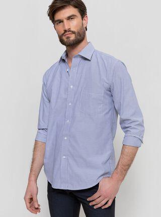 Camisa Formal Slim Rainforest,Azul Marino,hi-res