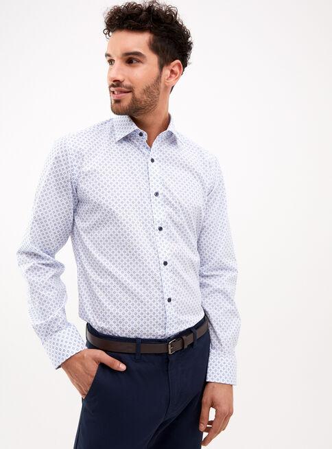 Camisa%20Tailored%20Fit%20Mini%20Print%20Celeste%20Arrow%2CCeleste%2Chi-res