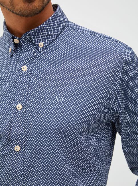 Camisa%20Manga%20Larga%20Print%20Oscar%20de%20La%20Renta%2CAzul%20El%C3%A9ctrico%2Chi-res